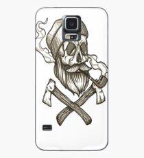 Lumber Jack Skull Case/Skin for Samsung Galaxy