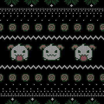 League of Legends Poro Ugly Christmas Sweater by Fyremageddon