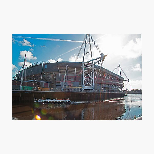 Principality Stadium in the Sun Photographic Print