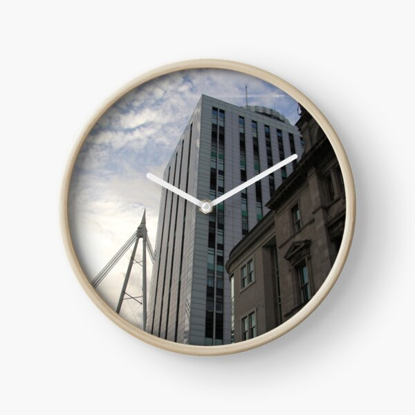 Architecture of the Earth and Sky. Clock