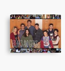 Freaks and Geeks Shirt Canvas Print