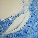 lei dorme 'le donne blu' © patricia vannucci 2008  by PERUGINA