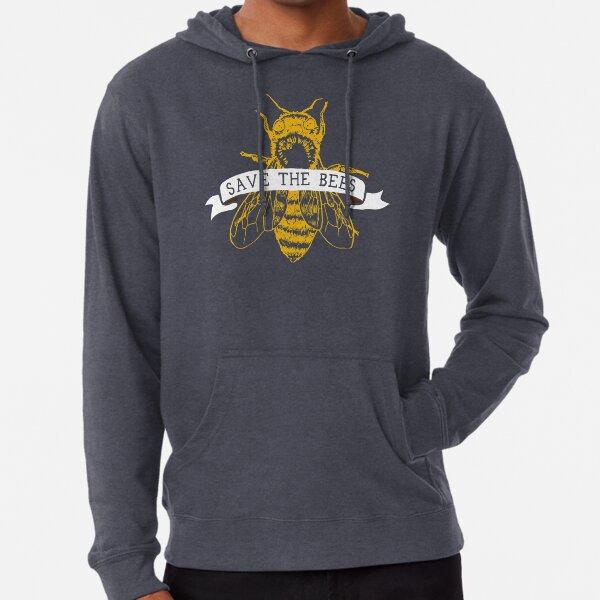 Sauvez les abeilles! (Sombre) Sweat à capuche léger