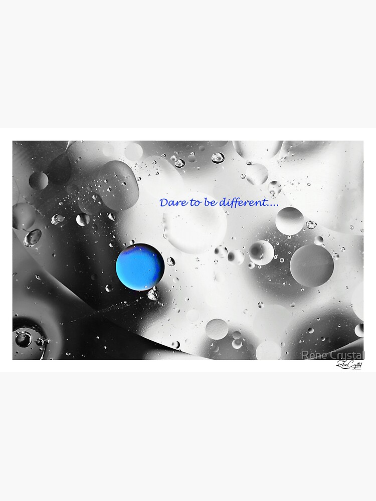 Dare to Be Different by imagesbycrystal