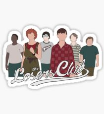 The Losers Club / IT Sticker
