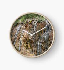 Rocky Falls Clock
