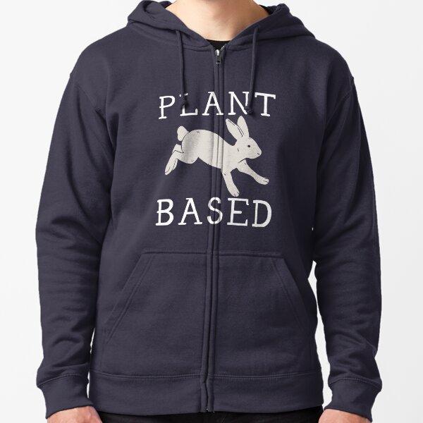 Plant Based Zipped Hoodie