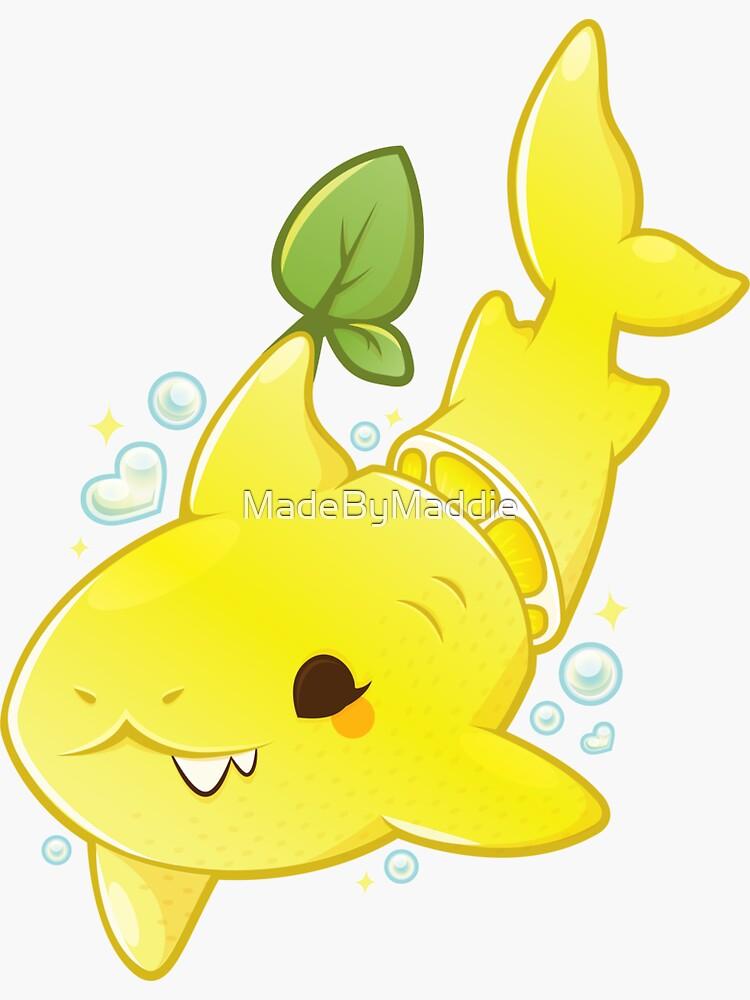Lemon Shark by MadeByMaddie
