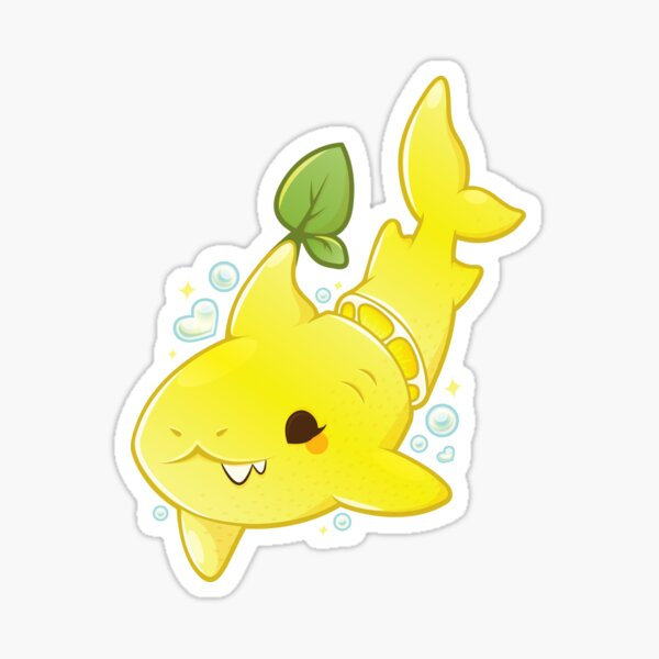 Lemon Shark Sticker