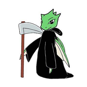 Grim Scyther by jessistorm