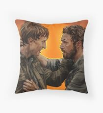 Aaron & Eric (THE WALKING DEAD) Throw Pillow
