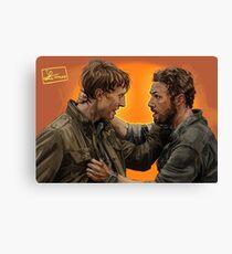 Aaron & Eric (THE WALKING DEAD) Canvas Print