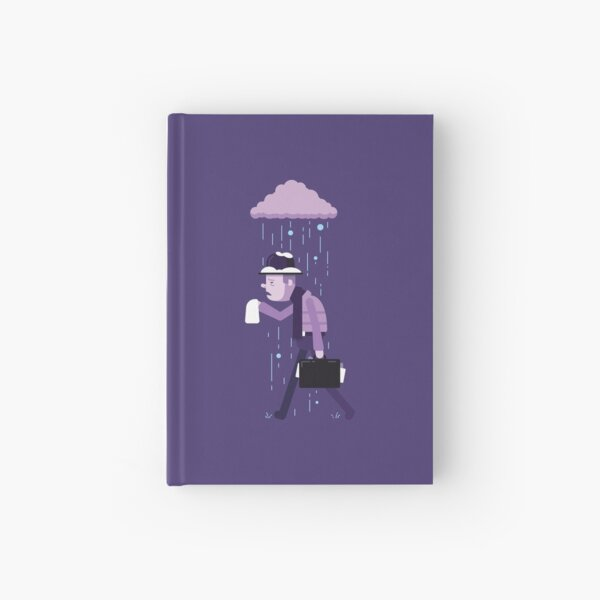 Feeling Under the Weather Hardcover Journal