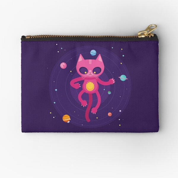 God is a Cat Zipper Pouch