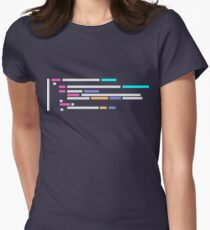 Code #1 Women's Fitted T-Shirt