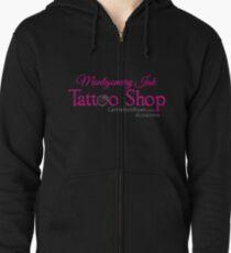 Montgomery Ink Tattoo Shop Zipped Hoodie