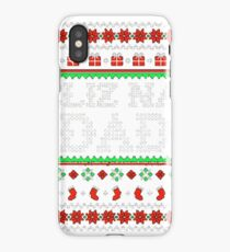 Feliz Navi Dad Ugly Christmas Sweater T Shirt | Daddy Claus iPhone Case/Skin