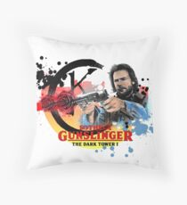 'The Dark Tower' - Roland Deschain 'The Gunslinger' v1 Throw Pillow