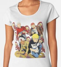 Jonny Quest Women's Premium T-Shirt