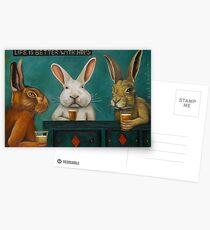 Bar Hopping Postcards
