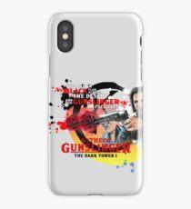 'The Dark Tower' - Roland Deschain 'The Gunslinger Followed' v1 iPhone Case/Skin