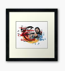 'The Dark Tower' - Roland Deschain 'The Gunslinger Followed' v1 Framed Print