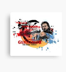 'The Dark Tower' - Roland Deschain 'The Gunslinger Followed' v1 Canvas Print