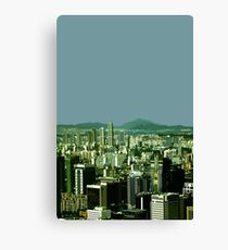 seoul view Canvas Print