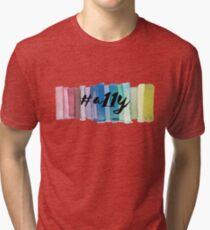 #a11y Watercolor Tri-blend T-Shirt