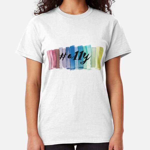 #a11y Watercolor Classic T-Shirt