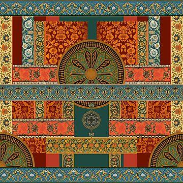 Ballets Russe Tapestry - sans Bakst by jenithea