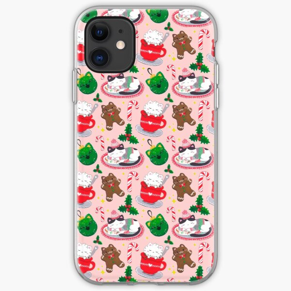 Cat Christmas iPhone Soft Case