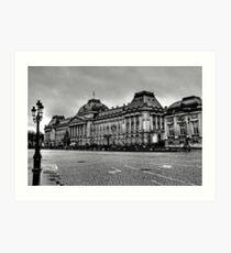 Palais Royal de Bruxelles Art Print
