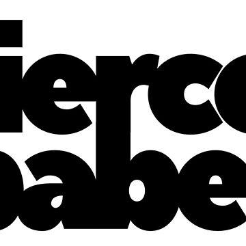 Fierce Babe – Block – Feminism, Empowerment Series by heykimberlea