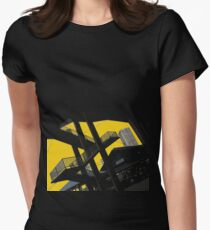 urban stairs Womens Fitted T-Shirt