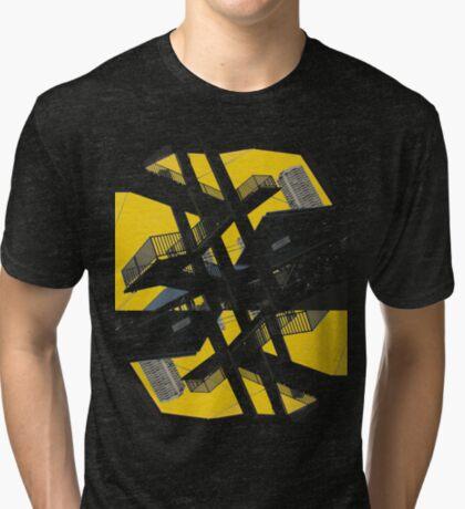 urban stairs 2 Tri-blend T-Shirt
