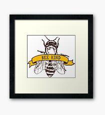 Bee Kind Framed Print