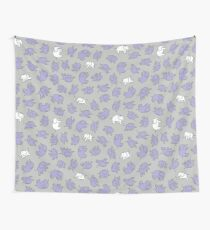 Elephants - cute baby pattern by Cecca Designs Wall Tapestry