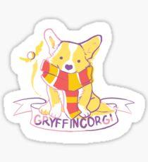 Gryffincorgi Corgi Sticker