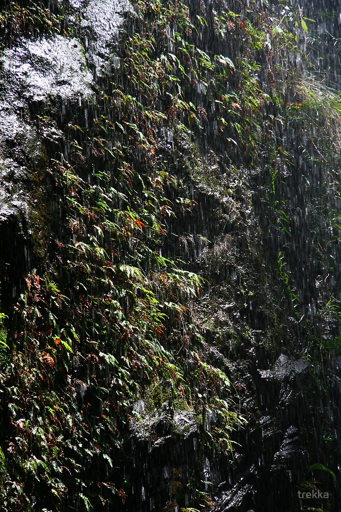 Rugged Falls by trekka