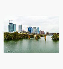 Austin skyline Photographic Print