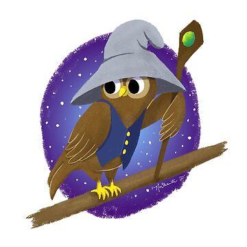The Owl Wizard by NaShanta