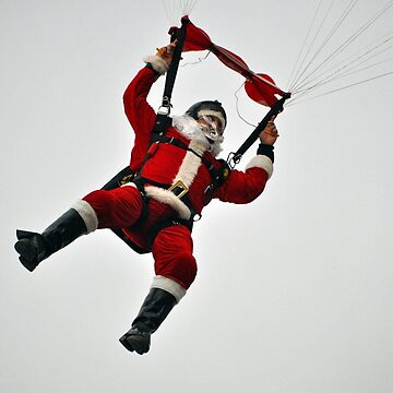 Santa Claus Is Coming Down by venny