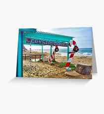 Santa's Workshop at Crystal Cove Greeting Card