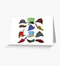 Magical Hats Greeting Card