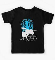 Octopus Rock! Kids T-Shirt