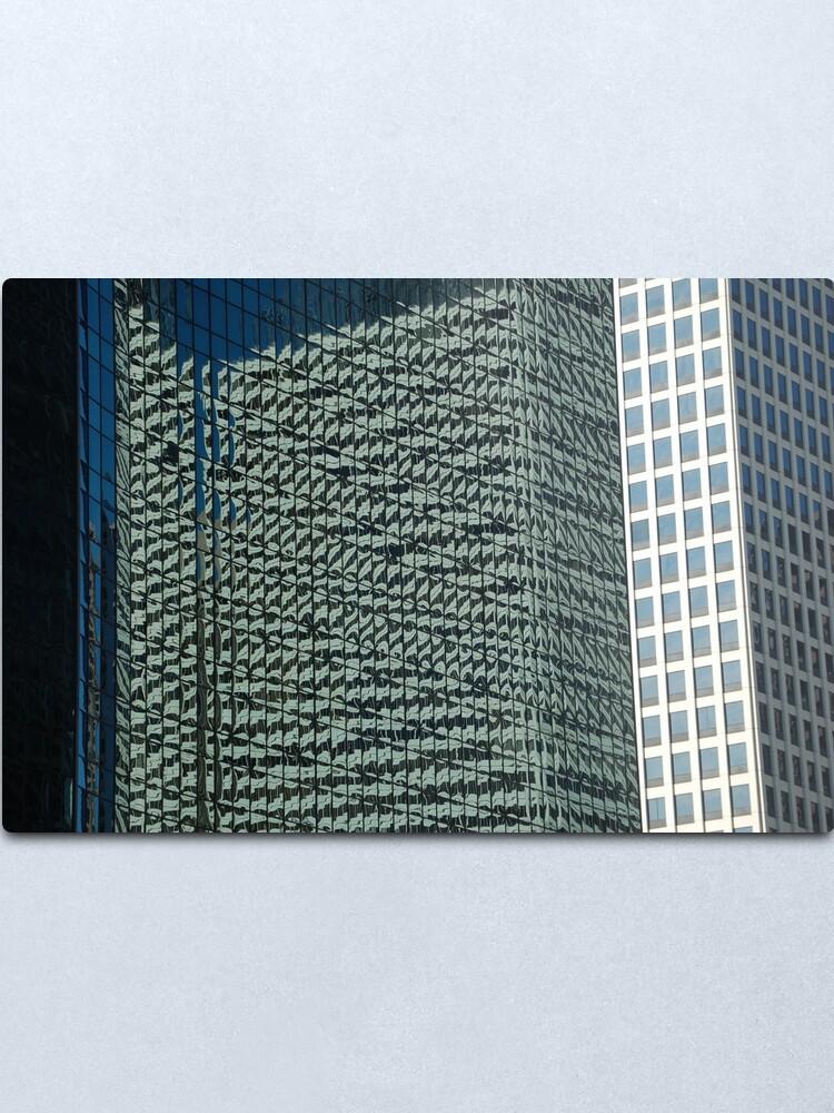 Alternate view of Patterns Metal Print