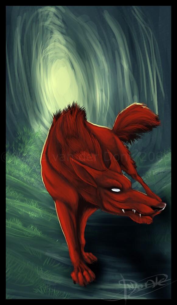 Devil Wolf by Rednight