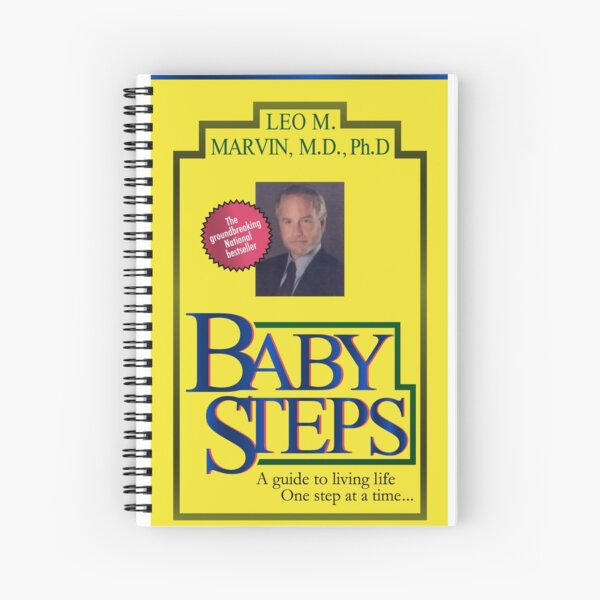 Baby Steps by Dr. Leo M. Marvin, M.D., Ph.D. Spiral Notebook
