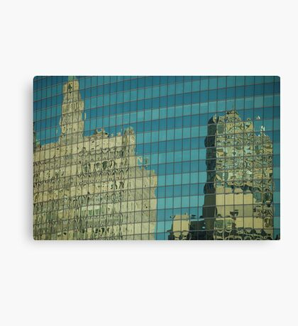Wrigley Reflections Canvas Print